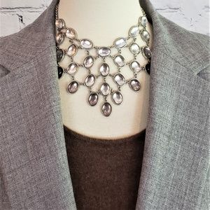 NWT Multi-tier Crystal Statement Necklace